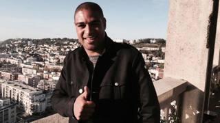 Adriano in visita alla città di Le Havre (Twitter del club)