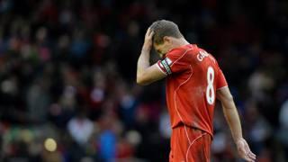 Steven Gerrard, 34 anni, capitano del Liverpool. Epa