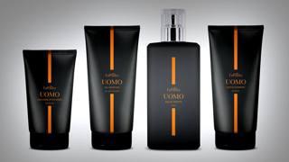 I quattro prodotti della Linea Uomo di EuPhidra