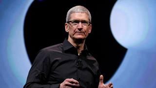 L'amministratore delegato di Apple, Tim Cook, 53 anni