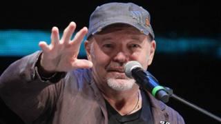 Vasco Rossi, 52 anni, al Medimex, per il lancio del suo album