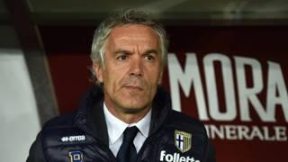 Roberto Donadoni, tecnico degli emiliani. Getty Images