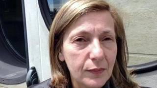 Antonella Leardi, madre di Ciro Esposito. Ansa