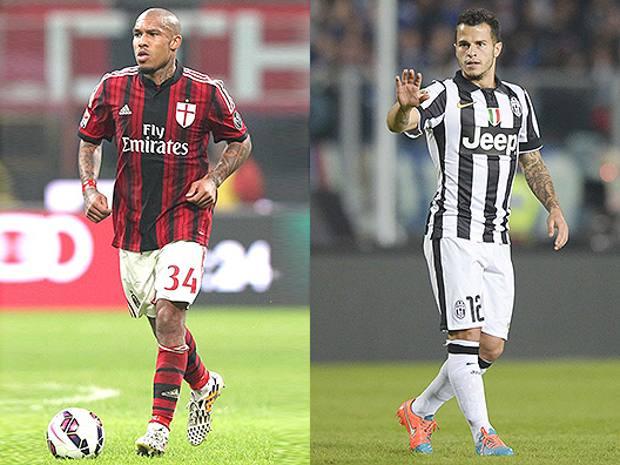De Jong e Giovinco, nodi cruciali per Milan e Juve. (Forte/LaPresse)