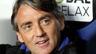 Roberto Mancini, il nuovo tecnico dell'Inter. Lapresse