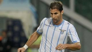 Lorik Cana, difensore della Lazio. LaPresse