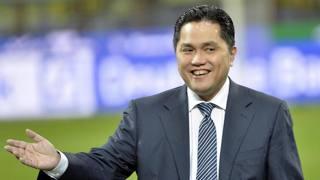 Erick Thohir, presidente dell'Inter. Ansa