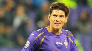 Mario Gomez, seconda stagione alla Fiorentina. LaPresse