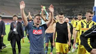 Dries Mertens, seconda stagione a Napoli. LaPresse