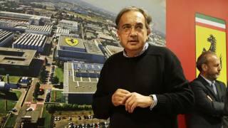 Sergio Marchionne, presidente della Ferrari. Ap