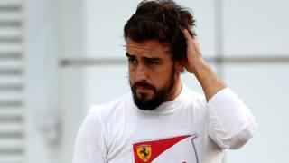 Fernando Alonso, 33 anni, all'ultimo GP con la Ferrari. Getty Images
