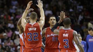 Esultanza Clippers. Ap