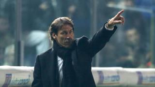 Rudi Garcia, seconda stagione da tecnico della Roma. Ansa