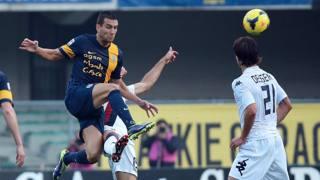 Bosko Jankovic, 30 anni, due reti in Serie A con la maglia del Verona. Ansa