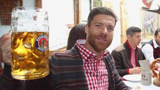 Xabi Alonso, primo anno al Bayern. Action Images