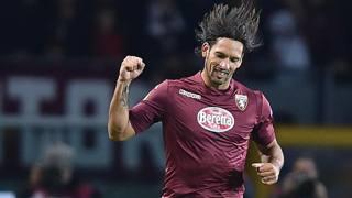 Amauri, attaccante del Torino, farà coppia con Fabio Quagliarella. Ansa