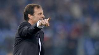 Il tecnico della Juventus Massimiliano Allegri. Ansa
