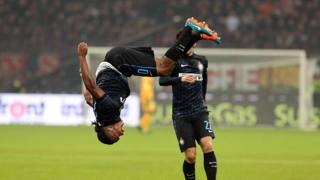 Joel Obi, 23 anni, centrocampista nigeriano dell'Inter. Ansa