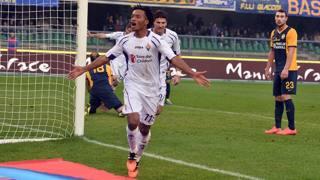 Juan Cuadrado, laterale della Fiorentina. Getty