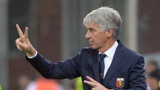 Gian Piero Gasperini, 56 anni, tecnico del Genoa. Ansa