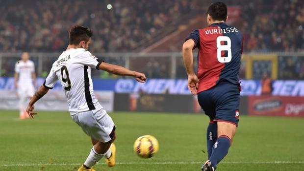 La magia di Dybala per il gol dell'1-0. Getty