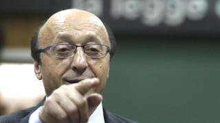 Luciano Moggi, 77 anni, ex dg della Juventus. Ansa