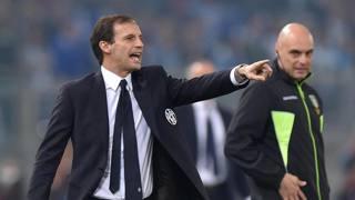 Massimiliano Allegri, tecnico dei bianconeri. Ansa