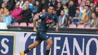 Marek Hamsik, capitano del Napoli. Lapresse
