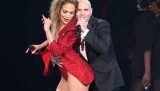 Jennifer Lopez sul palco