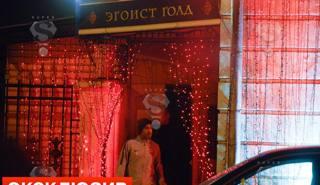Marco Borriello all'uscita dello strip club di Mosca. super.ru