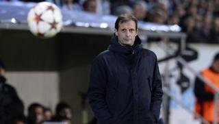 Massimiliano Allegri, prima stagione sulla panchina della Juve. Afp