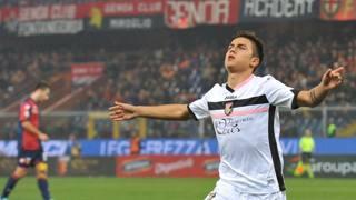 Paulo Dybala, 21 anni, attaccante argentino del Palermo. Ansa