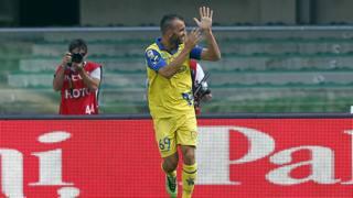 Riccardo Meggiorini, attaccante del Chievo. Getty