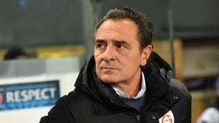 Cesare Prandelli, 57 anni, il Galatasaray lo aveva ingaggiato in luglio. Afp