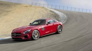 La Mercedes-Amg GT S alla prova del Cavatappi