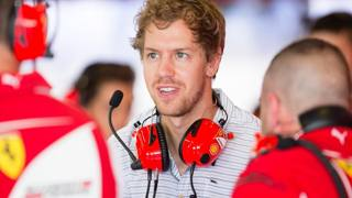 Sebastian Vettel, nuovo pilota Ferrari. LaPresse