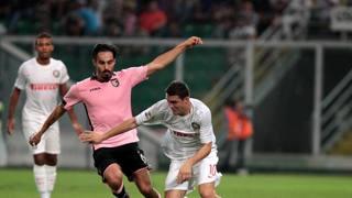 Francesco Bolzoni, 25 anni, centrocampista del Palermo. Lapresse