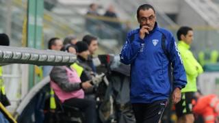Maurizio Sarri, allenatore dell'Empoli. Ansa