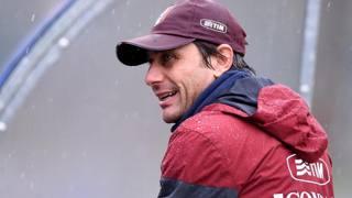 Antonio Conte, c.t. della Nazionale italiana, oggi in visita dall'Udinese. Getty
