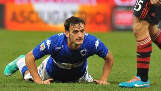 Manolo Gabbiadini, 23 anni, attaccante della Sampdoria. Ansa