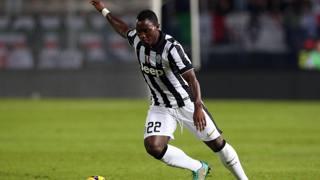 Kwadwo Asamoah, 25 anni. Ansa