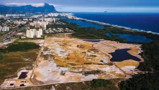 Lo stato dei lavori al campo di golf olimpico a Rio