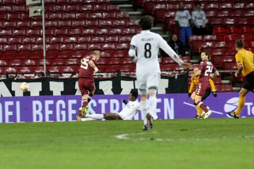 Le cose non si erano messe bene all'inizio: Glik devia il pallone sul piede di Amartey e la palla entra. 1-0 Copenaghen. LaPresse