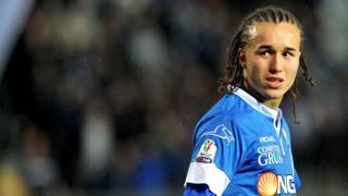 Diego Laxalt, centrocampista dell'Empoli. LaPresse