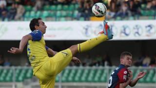 Dario Dainelli, 35 anni, difensore del Chievo. Ansa