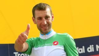 Vincenzo Nibali, 30 anni, in maglia tricolore. BETTINI