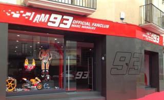 La nuova sede del Fan Club di Marc Marquez a Cervera