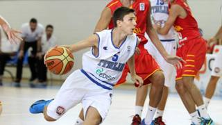 Michele Antelli, 16 anni, play di Venezia, qui in maglia azzurra