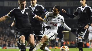 Aaron Lennon, 27 anni, centrocampista offensivo del Tottenham. Afp