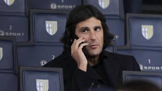 L'avvocato Fabio Giordano, presidente tecnico del Parma per i prossimi tre mesi. LaPresse